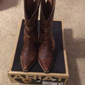 Ariat Heritage Western X-toe size 7